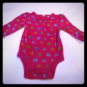 Baby Gap baby, 3-6 mo, long sleeve romper